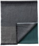 Charles Tyrwhitt Blue Stripe Merino Scarf