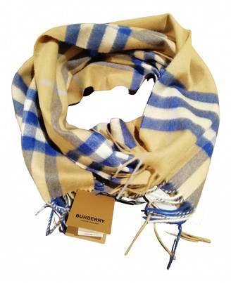 Burberry Beige Cashmere Scarves & pocket squares