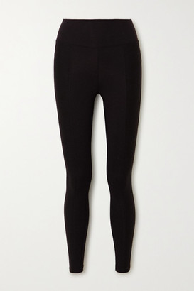 YEAR OF OURS The 54 Ribbed Stretch Leggings - Black