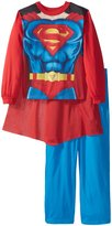 Superman Big Boys' New Supersuit 2-Piece Pajama Set