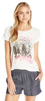 Lucky Brand Women's Elephant Drawing Tee