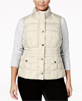 Charter Club Plus Size Quilted Puffer Vest, Only at Macy's