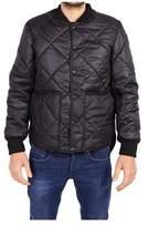 Numero 00 Numero00 Men's Black Polyester Jacket.