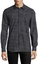 Antony Morato Men's Cotton Gingham Sportshirt