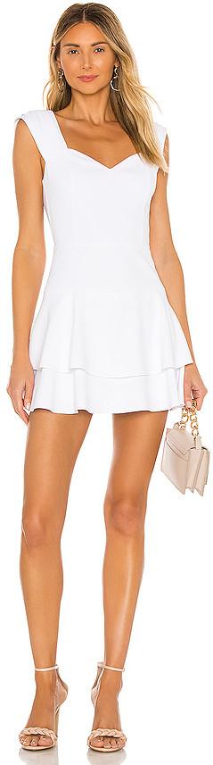 Alice + Olivia Brinda Fit Flare Dress