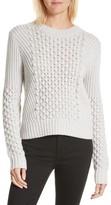 Rebecca Taylor Women's Honeycomb Stitch Sweater