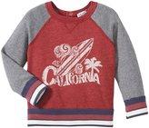 Splendid Active Sweatshirt (Baby) - Dark Red-6-12 Months