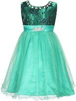 Richie House Girls' Princess Party Dress with Big Bow RH2602-A