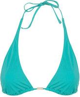 Topshop High Apex Triangle Bikini Top