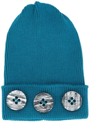 0711 Button Detail Beanie