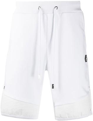Philipp Plein Logo Jogging Shorts