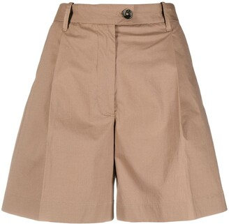 Nine In The Morning Inverted Pleat Shorts