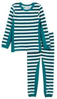 Coccoli Velour Striped Pajamas (Toddler & Little Kids)