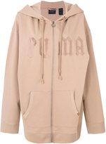 Fenty X Puma - Fleece hoody with harness - women - Cotton/Polyester/Spandex/Elastane - S