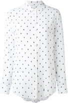 Equipment bee print shirt - women - Silk - S