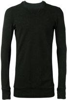 11 By Boris Bidjan Saberi collar detail sweatshirt