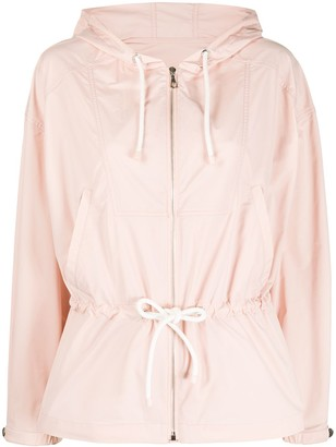 Yves Salomon Drawstring Waist Jacket