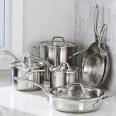 Crate & Barrel Calphalon ® Signature Stainless Steel 10-Piece Cookware Set with Double Bonus