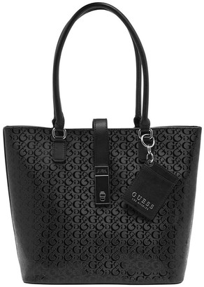 GUESS FF765123BLA Skyla Double Handle Tote Bag