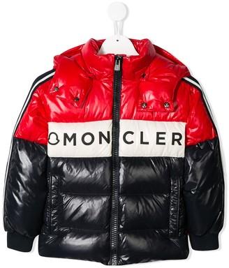 Moncler Enfant Logo Puffer Jacket
