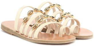 Ancient Greek Sandals Niki Shells leather sandals