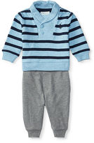 Ralph Lauren Cotton Pullover & Pant Set