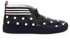 Del Toro Polka Dot Chukka Sneakers