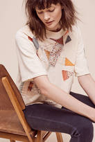 Anthropologie Cropped Quilter Pullover