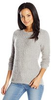 Calvin Klein Women's Long-Sleeve Eyelash Sweater