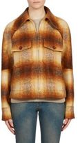 Chloé Checked Mohair Jacket