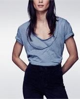 Free People Phoebe Drapey Layered T-Shirt
