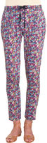 girl. by Band of Outsiders Floral Drawstring Pants