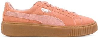Puma Low Top Platform Sneakers