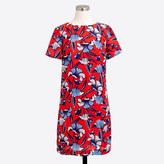J.Crew Factory Printed short-sleeve gallery dress