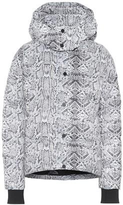 Varley Highland snake-print puffer jacket