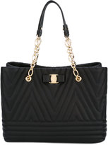 Salvatore Ferragamo quilted tote - women - Calf Leather - One Size