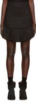 Etoile Isabel Marant Black New Ruffle Miniskirt