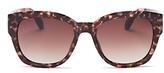 Toms Audrina Oversized Square Sunglasses, 56mm