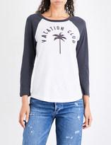 Sundry Vacation Club cotton-jersey T-shirt