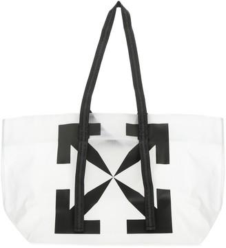Off-White Arrows Print Tote Bag