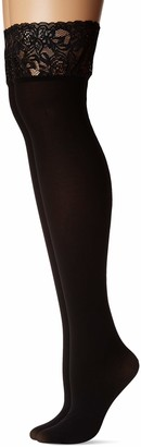 Just My Size Women's Plus Size Seasonless Thigh High 2-Pack