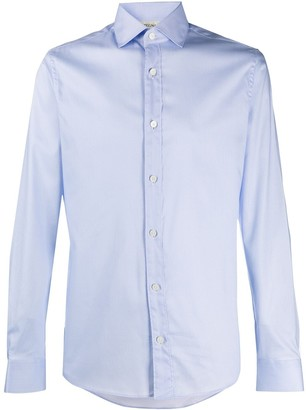 Ermenegildo Zegna Long-Sleeve Cotton Shirt