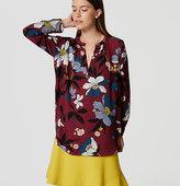 LOFT Blossom Tunic Blouse