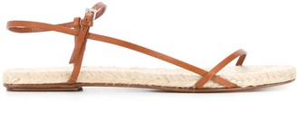 The Row Flat Espadrille Sandals