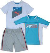 "Puma Boys 4-7 Born a Winner"" Tee & Shorts Short"