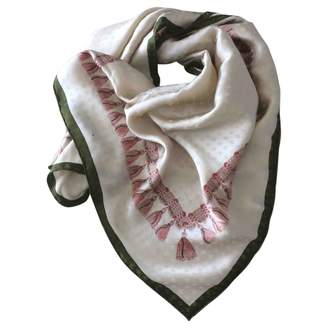 Chanel Pink Silk Scarves