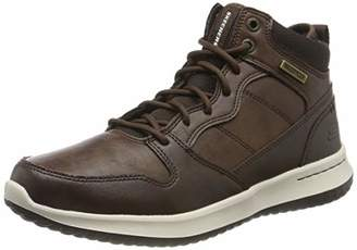 Skechers Men's Delson Classic Boots, Brown (Chocolate Leather Chocolate), (39.5 EU)