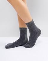Weekday Lurex Socks
