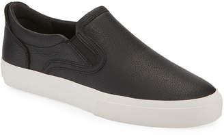 Vince Men's Fairfax Leather Slip-On Sneakers