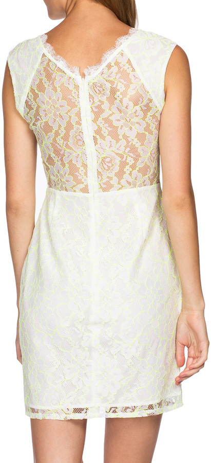 Dolce Vita Trouble Dress White Yellow